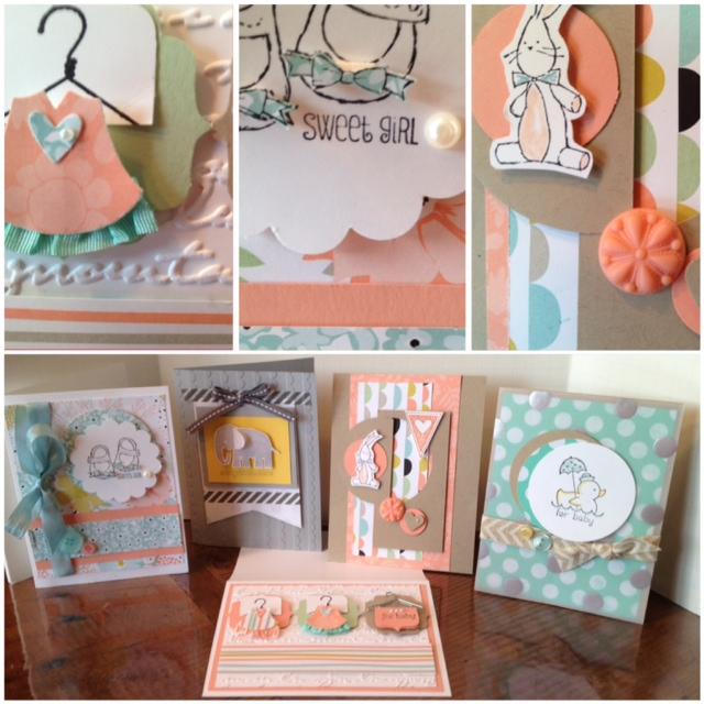 Baby card pics