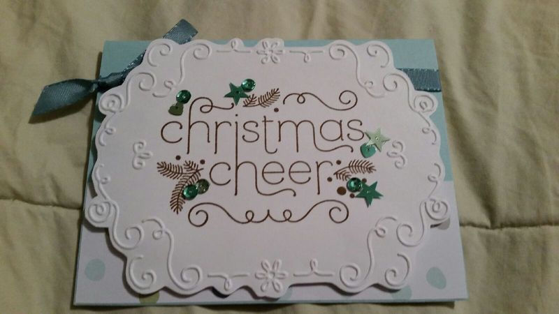 Kelly hostess card